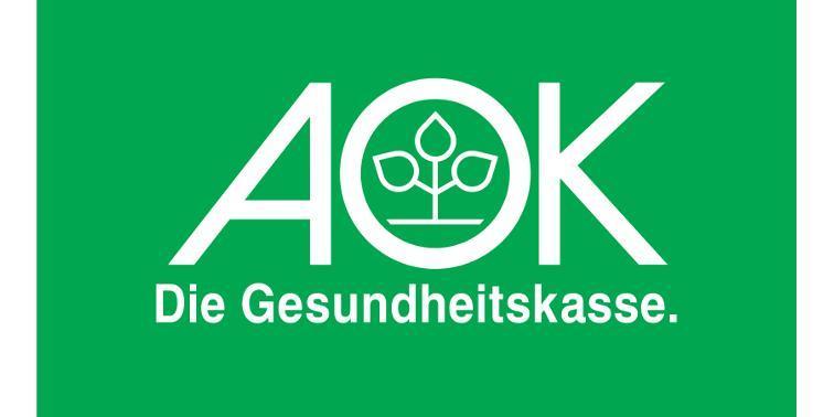 Das Logo der AOK